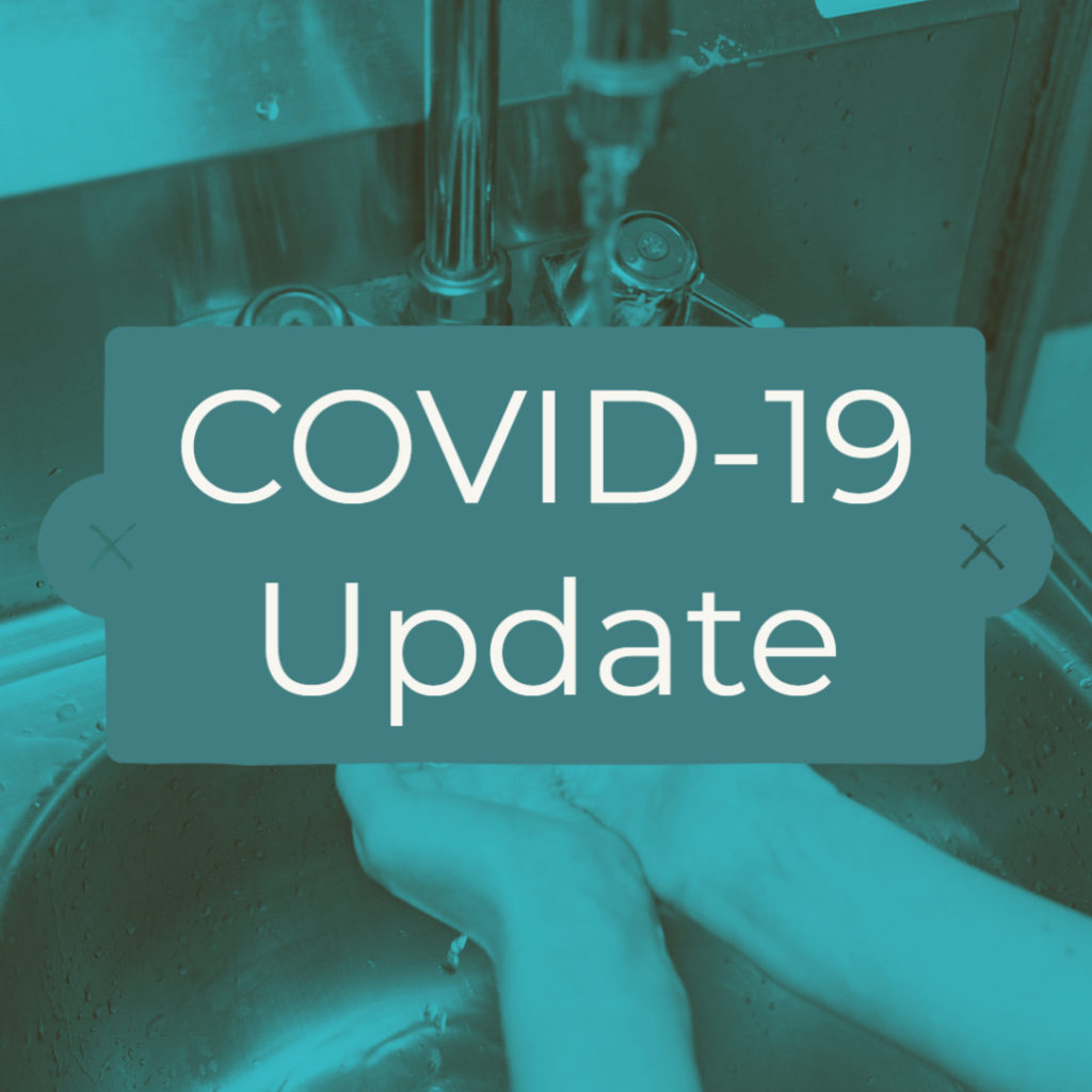 COVID-19/Coronavirus Update