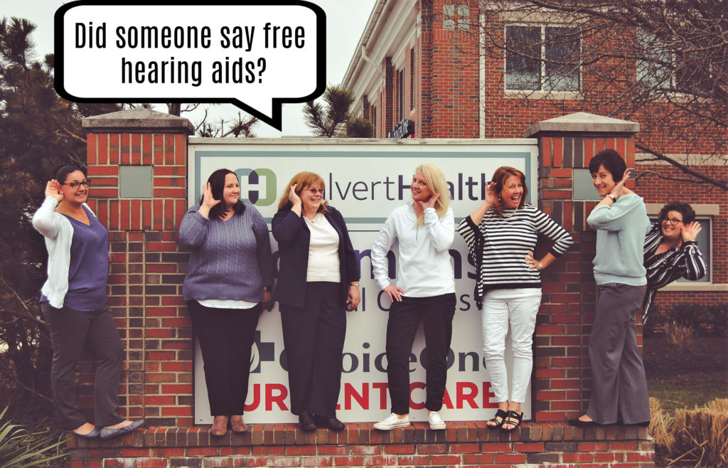Free Hearing Aid Give Away for Better Hearing Month!